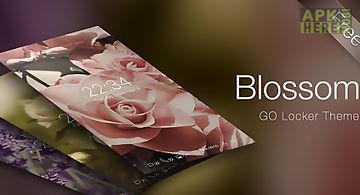 (free) blossom go locker theme