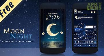 (free)night moon go big theme