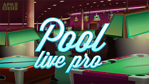 pool live pro: 8-ball and 9-ball