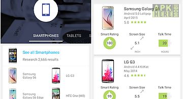 Smartphone compare by specout