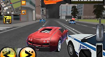Crazy driver gangster city 3d