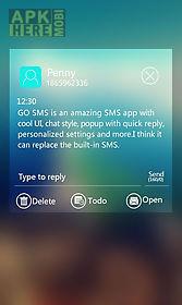 free - go sms venus theme
