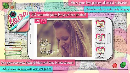 love text pics - photo studio