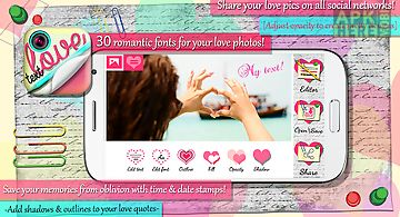Love text pics - photo studio