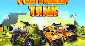 Pixel shooter tank pvp