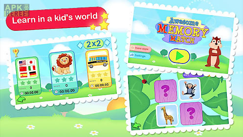 awesome memory game for kids