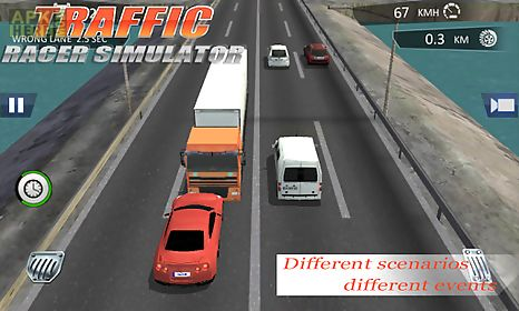 city traffic racer dash