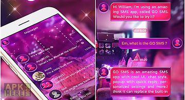 Go sms pro night life theme