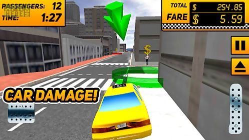taxi driver game