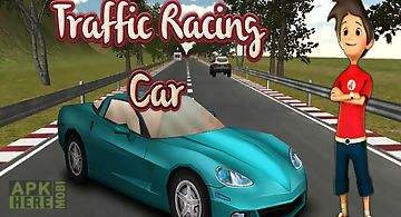 Traffic racing car