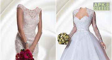 Wedding dress hd photo montage