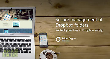 Folder cryptor for dropbox