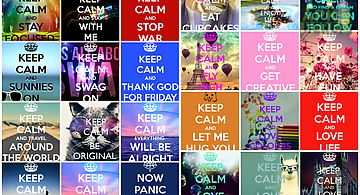Keep calm backgrounds