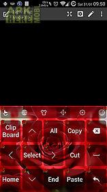 keyboard theme valentine rose