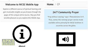 Mcgi app