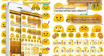 Touchpal emoji keyboard theme