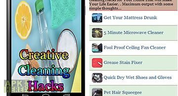 Creative cleaning hacks