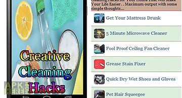 Creative cleaning hacks