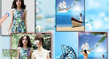 Erase photo background