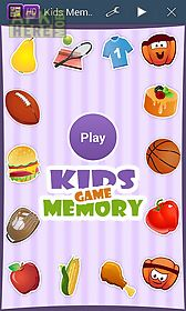 kids memory game new edition