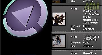 Sr player (video player) for Android free download at Apk