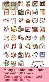 cute theme-kitty face-