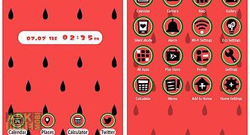 Cute theme-watermelon-