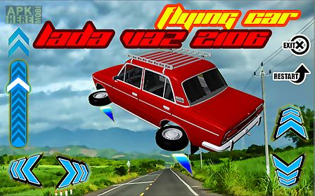 flying car lada vaz 2106 3d