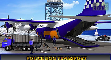 Police airplane transporter