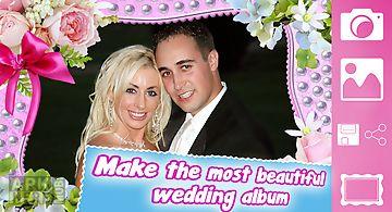 Wedding photo frames-love pics