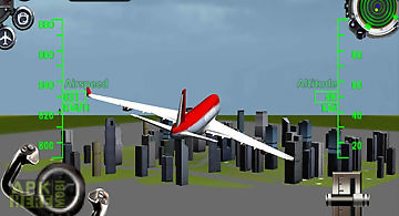 3d airplane flight simulator 2