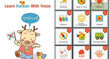 Learn korean with voice lite