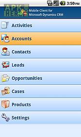 mobile client ms dynamics crm