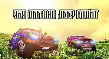 4x4 offroad jeep stunt