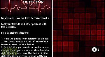 Amazing love detector