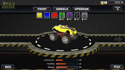 monster truck racer: extreme monster truck driver