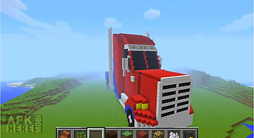 Truck of mine block craft