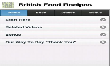 British food recipes for android free download at apk here store british food recipes for android forumfinder Images
