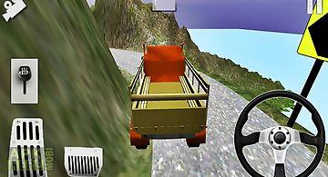 Cargo deliver speed simulator
