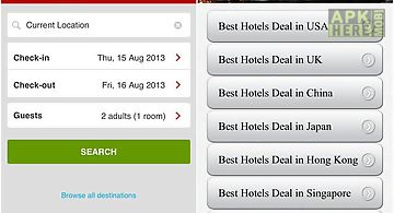 Hotel best deals savings