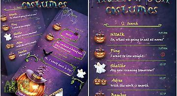 (free) go sms halloween theme