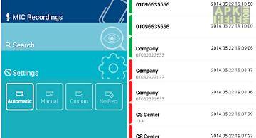 Auto call recorder (smartlog+)