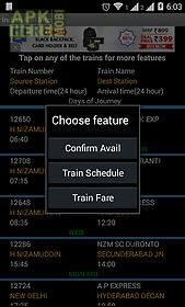 Indian rail for Android free download at Apk Here store - Apktidy com