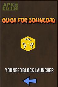 download block launcher minecraft pe