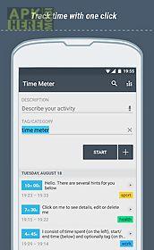 time meter time sheet