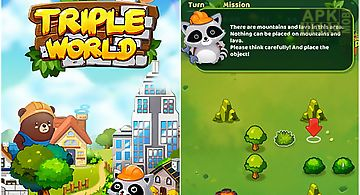 Triple world: animal friends bui..