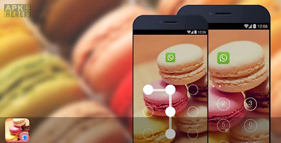 applock theme - macaron theme