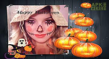 Happy halloween photo frames