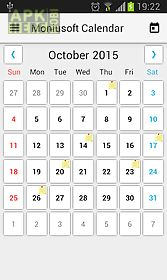 Moniusoft calendar for Android free download at Apk Here