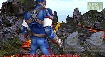 Super soldier hero run 3d